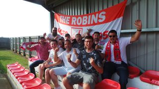 Robins Earn Replay  with a Draw with Wisbech Town