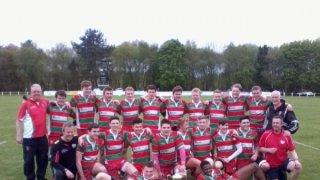 Snr Colts Lancashire Cup Winners 2014