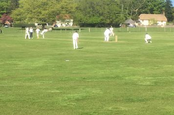 Russell and Sam batting v. Suttoners