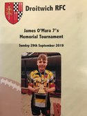 Evesham support Droitwich James O'Mara Memorial 7s Tournament