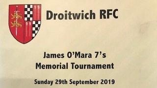 Evesham support Droitwich James O'Mara Memorial 7s Tournament