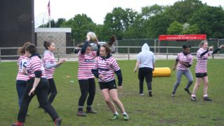 U13 Schoolgirls Rugby at Manchester