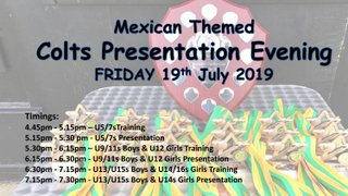 Wargrave CC Colts Presentation Evening 2019 - Friday 19th July