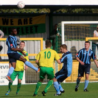 Thurrock too strong for Ramblers
