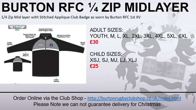 Burton RFC Shop Special