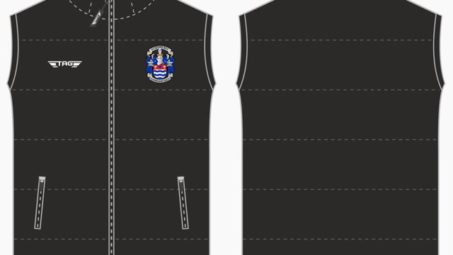 Burton RFC Club Shop Special - BRFC Gilet