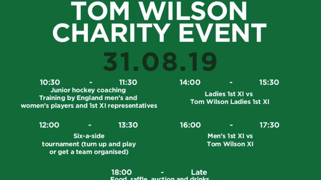 Tom Wilson Hockey Charity Event