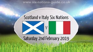 6 Nations - Scotland V Italy on the Big Screen