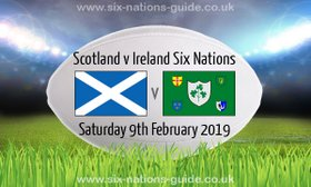 6 Nations Scotland V Ireland