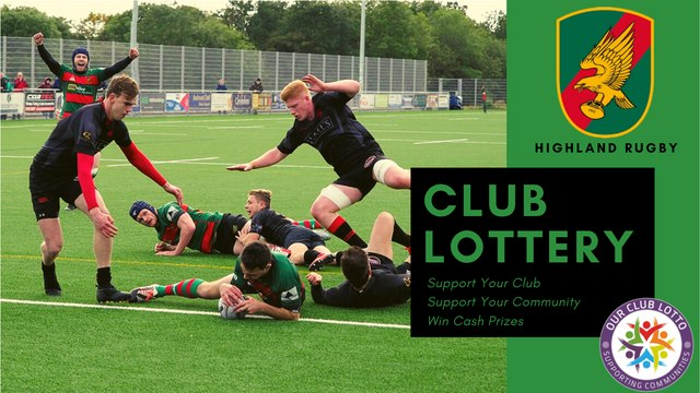 Highland Rugby Club Lottery