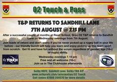 02 Touch & Pass @ Sandhill Lane