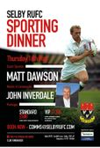 Selby RUFC Sporting Dinner 2019
