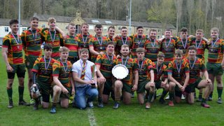 Selby RUFC Senior Colts win the Yorkshire Plate Final to Seal the Season's Double