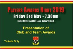 Senior Players Awards Night