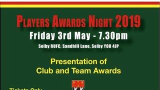 Senior Players Awards Night