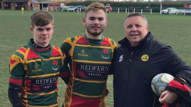 First Caps for Selby Boys