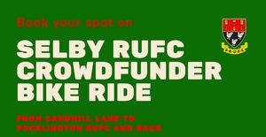 Selby RUFC to Pocklington RUFC Bike Ride