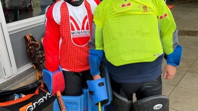 Great Scott - league match sees father and son in opposition goals