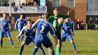 Hall Road Rangers 4-0 Brigg Town (25/3/17)