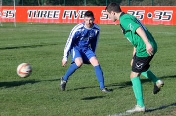 Robert Petch in action for Brigg Town.