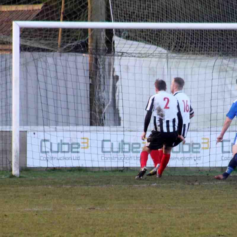 Gavin King's first goal.