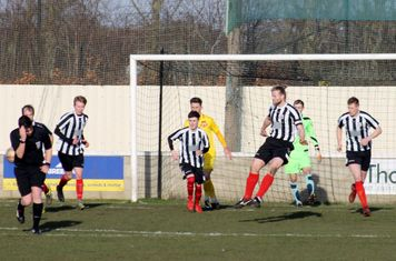 Chris Rodgers making a clearance.