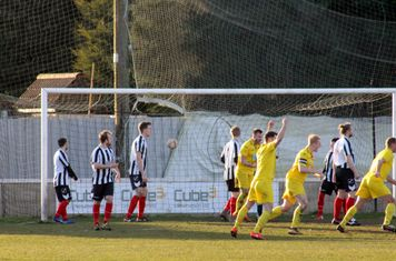 Dan Thirkhall's first goal.