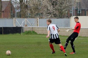 Adam Lawlor passing forwards.