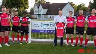 2019-20 new kit and sponsor & training