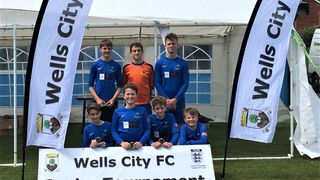 Wells City Tournament - WCFC U13s Runners Up