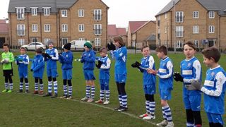 U11 Blues at home in the Cup