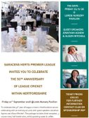 Celebration of 50 years League Cricket in Hertfordshire