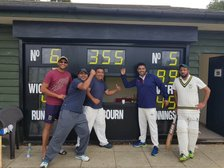 Ricky 1st XI dominate Redbourne with batting display