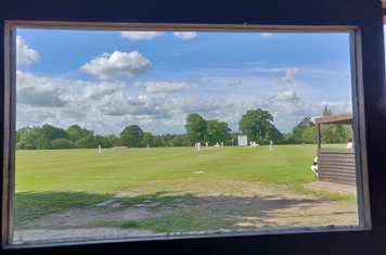 View from the scorebox