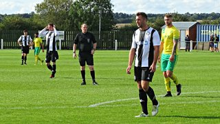 FA Vase. Holwell Sport 1 Heanor Town 2