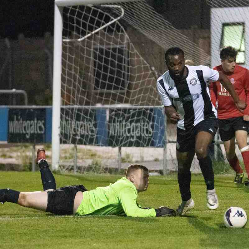 Heanor Town 5 - 1 Linby Colliery (Friendly)