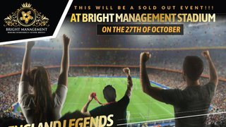 Bedford XI v England Legends Tickets NOW ON SALE