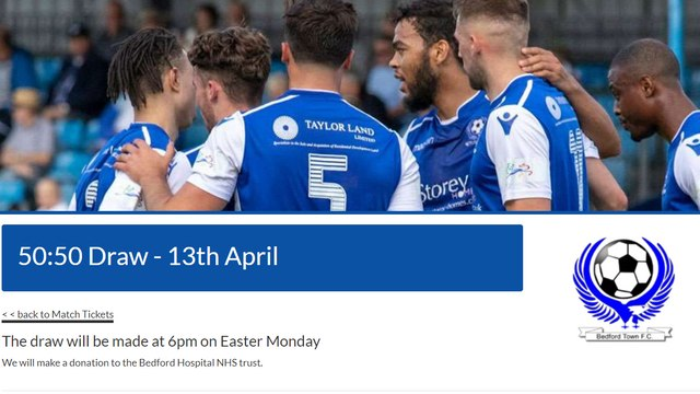 Easter 50:50 Draw Now Open