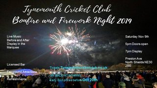 2019 Bonfire and Fireworks Night