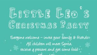 Little Leos Christmas Party