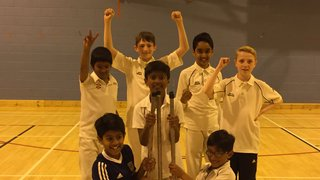 Under 13 Indoor League Champions