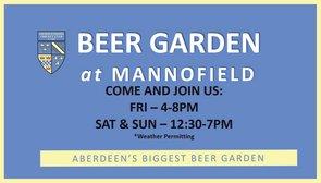 Beer Garden at Mannofield