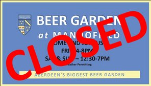 The Beer Garden at Mannofield Update