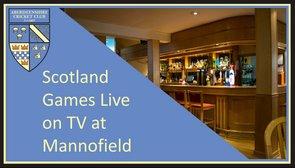 Scotland Games Live on TV