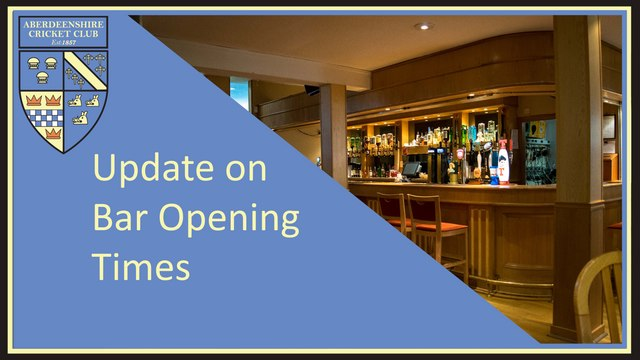 Bar Opening Times and Rules whilst in Tier 2