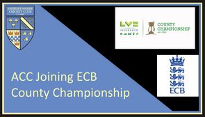 ACC to join ECB's County Championship