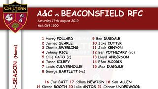 A&C vs Beaconsfield Selection