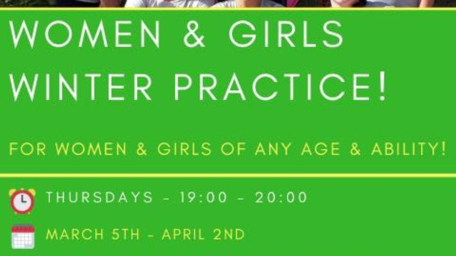 Women and Girls Winter Practice 2020