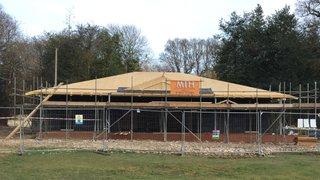 Pavilion Progress w/e 9th March 2019
