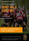 1st XV Warm up Match v Coney Hill